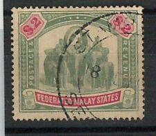 60784 - MALAYA Federate Malay States - STAMPS: SG # 24 Used   FINE - ELEPHANTS