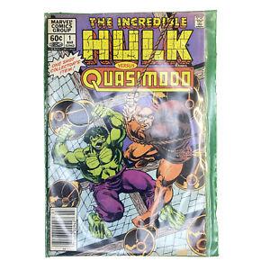 Incredible Hulk vs Quasimodo Marvel Vintage March 1983