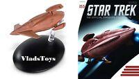 Vulcan D'Vahl  survey ship   Captain Tellus Eaglemoss Star Trek Issue 155 w/Mag