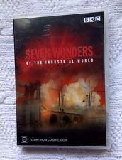 SEVEN WONDERS OF THE INDUSTRIAL WORLD (DVD, 2-DISC) R-4, LIKE NEW, FREE SHIPPING
