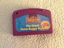 LEAP 2 MATH THE GREAT DUNE BUGGY RACE  Game Cartridge Leap Pad