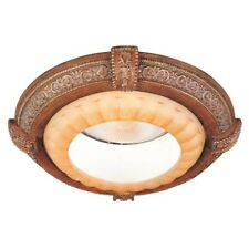 Light Ceiling Fixture Chateau Deville Recessed Can Trim Walnut 6 In. ETL Listed