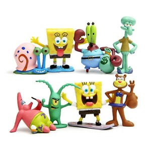 Sponge Bob Square Pants figurine Set for Fish Tank / Aquarium