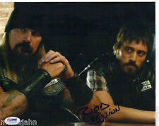 Rusty Coones Rane Quinn Sons of Anarchy Signed Autograph 8x10 Photo PSA DNA COA