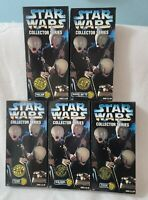"""(5) Kenner Star Wars Cantina Band Members 12"""" Figures Collector Series Lot"""