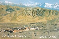 An Amazing View of Lo Manthang, Mustang Postcard Nepal