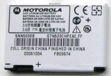 Genuine Motorola SNN5696B BR-50 Battery RAZR V3 V3i PEBL U6 SNN5696A SNN5696C