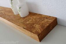 Wandboard Olive Olivenholz Massiv Holz Board Regal Steckboard Regalbrett NEU