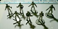Rawcliffe Star Trek Figures lot of 7, Original and The next Generation-