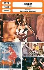 FICHE CINEMA : MALICIA - Antonelli,Ferro,Samperi 1973 Malizia