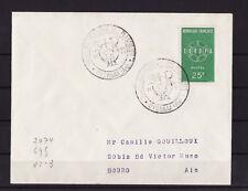 ec47/ Enveloppe   salon des plastiques  Oyonnax   1960