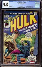 Incredible Hulk # 182 CGC 9.0 OW/W (Marvel, 1974) Wolverine cameo