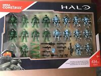 Mega Bloks Construx Halo Faithful vs Fallen *NIB* FRM20  20 Figures NEW Sealed