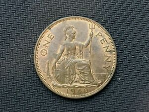 1940 Great Britain UK Penny Coin UNC   High Grade  World Coin    #C755
