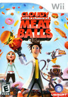 🔥 Cloudy with a Chance of Meatballs Wii  Complete CIB