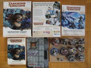 Dungeons & Dragons 4. Edition - Essentials Monster Vault Box set +Map Tokens Adv