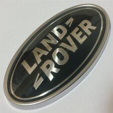NUOVO OEM LAND Rover Defender Posteriore PORTELLONE avvio Badge Emblema ovale * verde-Argento *