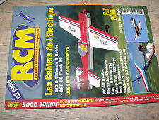 µµµ Revue RCM n°303 Plan encarté Spitfire Mark V / Swift II MS Composit CAP 10