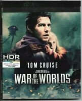 War of the Worlds [4K UHD HDR Ultra HD Blu-ray / Bluray] + Slipcover