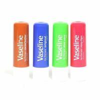 New Vaseline Lip Therapy Balm Sticks Rosy Lips Aloe Vera Cocoa Butter Original