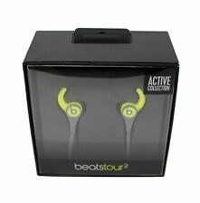 Beats Tour2 Wired In-Ear Headphone, Active Collection - Shock Yellow (Open Box)