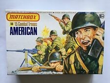 'EMPTY BOX ONLY' MATCHBOX SOLDIERS 1/32 SCALE WW2 AMERICAN ARMY