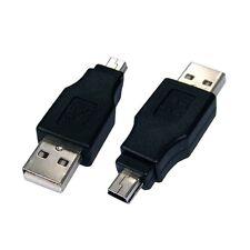 Adattatore Convertitore Mini USB 2.0 A Maschio a Mini B Maschio