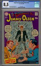 SUPERMAN'S PAL, JIMMY OLSEN #123 - CGC 8.5 - SACRIFICE OF JIMMY OLSEN-2105224021