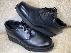 DREW Black Women's Comfort Walking Shoe 9.5 W Orthopedic Diabetic PRISTINE CLEAN
