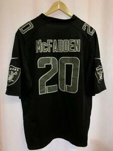 NFL OAKLAND RAIDERS AMERICAN FOOTBALL SHIRT JERSEY NIKE DARREN MCFADDEN #20