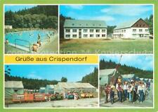 73544285 Crispendorf Ferienlager der IG Wismut Karl Marx Freibad Crispendorf