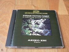 Akiko Ebi - Dynam Victor Fumet : L'Oeuvre pour piano, Piano Works - CD Cybelia