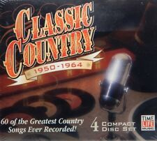 Classic Country: 1950-1964 ~ New 4-CD Box Set (Oct-2002, Time-Life Music)