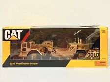 1/50 Scale 627K Wheel Tractor-Scraper, Limited Gold Chrome Edition