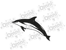 6 Dolphin Vinyl Wall Tile Sticker Decals For Bathroom/any wall and Tiles