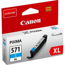 Canon CLI-571XL Cyan Cartouche d'encre d'origine (0332C004) MG7751 MG7752 MG7753