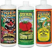 Big Bloom, Grow Big SOIL , Tiger Bloom - Fox Farm