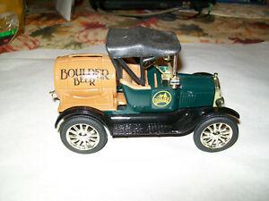 "Ertl #9623UP ""Boulder Beer Colorado Series"" 1918 R.A. Barrel Car Bank 1:25 MIB"
