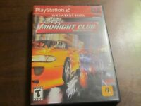 Midnight Club Street Racing PlayStation 2 PS2 Greatest Hits - Complete - NICE!!!
