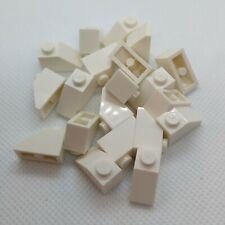 LEGO toit 5x12x16 # tan crème nº 100 pieces pentes tiles 1x2 2x2 # neuf #