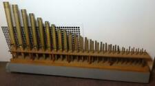 Spectacular Rack of 49 Metal Antique Organ Pipes Berks County, Pa. 1890's