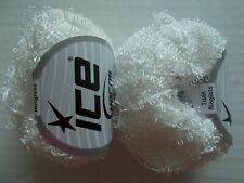 Ice Yarns Twin Ringlets loopy accent yarn, white, lot of 2 (132 yds each)