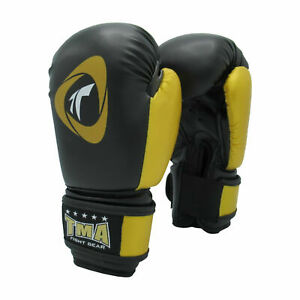 KIDS BOXING GLOVES HIGH QUALITY LEATHER 6 oz
