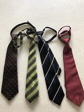 Lot Of 4 Boys Neck Ties