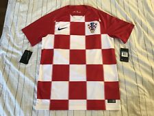Nike Croatia Home Jersey Soccer World Cup 2018 size M