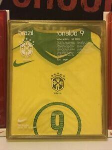 Brasil NIKE Spielertrikot *R9 RONALDO* Limited Edition Box -EL PRESIDENTE Trikot