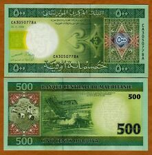 Mauritania / Africa, 500 Ouguiya, 2004, P-12 (12a), First Date, UNC