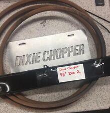 "Original Dixie Chopper 48"" Zee 2 , 300995,300819, Blade And Belt Kit"