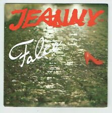"FALCO Vinyl 45T SP 7"" JEANNY - MANNER DES WESTENS ANY - AM 390072 Dédicacé RARE"