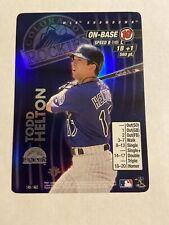 MLB Showdown 2001 Todd Helton Colorado Rockies 1st Edition FOIL